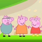 Игра Игра Свинка Пеппа: вышибалы