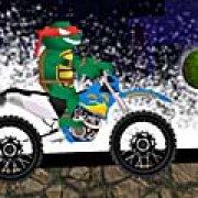 Игра Игра Черепашки ниндзя на мотоцикле: вызов