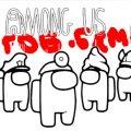 Игра Игра Амонг Ас / Среди нас: Книжка Раскраска