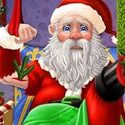 Игра Игра Эльза спасает Деда Мороза