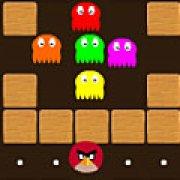 Игра Игра Злые птицы пакман