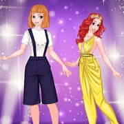 Игра Игра Принцессы Диснея копируют стиль