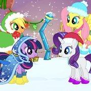 Игра Игра Пони зимний стиль