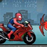 Игра Игра Мотогонка Человека Паука