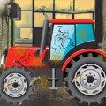 Игра Игра Автомойка тракторов: мыть и ремонтировать трактор