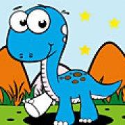 Игра Игра Хороший динозавр раскраска