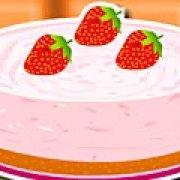 Игра Игра Сливочный пирог с клубникой и мятой