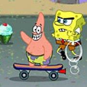Игра Игра Губка Боб-скейтбордист