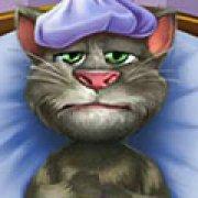 Игра Игра Говорящий кот Том заболел