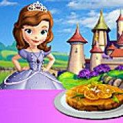 Игра Игра София готовит апельсиновый пирог