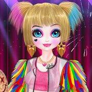 Игра Игра Новые Для Девочек: Чудесная Харли Квин
