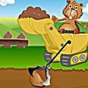 Игра Игра Непослушный бобер на ферме