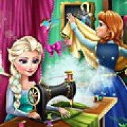 Игра Игра Эльза и Анна модные соперники