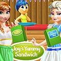 Игра Игра Радость готовит сендвичи для принцесс Диснея