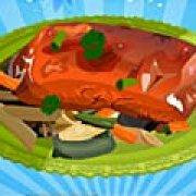 Игра Игра Пряный глазированный лосось