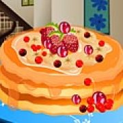 Игра Игра Блинчики с клубникой: готовка