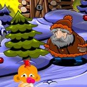 Игра Игра Счастливая обезьянка: Уровень 482 Новый Год