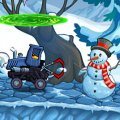 Игра Игра Машина Ест Машину: Зимнее Приключение