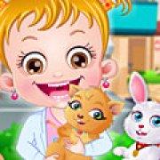 Игра Игра Малышка Хейзел: больница для животных 2