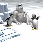 Игра Игра Йети Спорт 1 Бросок Пингвина