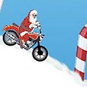 Игра Игра Дед мороз на мотоцикле
