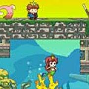 Игра Игра Побег принцессы Русалочки