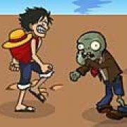 Игра Игра Ван-Пис против зомби