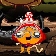 Игра Игра Счастливая обезьянка уровень 116