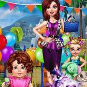 Игра Игра Уход за малышами: день рождения маленькой принцессы
