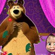 Игра Игра Маша и грязный Медведь