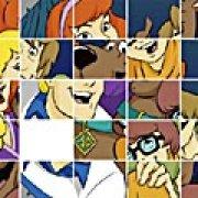 Игра Игра Скуби-Ду и друзья: скользящий пазл