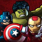 Игра Игра Лего Марвел команда супергероев