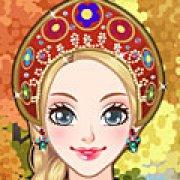 Игра Игра Макияж русской девушки