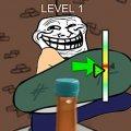 Игра Игра Троллфейс: Челлендж бутылочной крышки