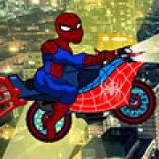 Игра Игра Мотоцикл Человека паука