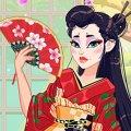 Игра Игра Легендарная мода: Японская гейша