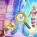 Игра Игра Барби в Сказке Русалочки: скрытые буквы (Barbie in Mermaid Tale Hide