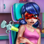 Игра Игра Леди Баг инъекция вакцины
