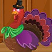 Игра Игра День Благодарения индейка одевалки