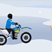 Игра Игра Зимняя гонка на мотоцикле