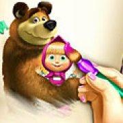Игра Игра Раскраска Маша и Медведь