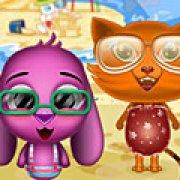 Игра Игра Тото и Сиси на пляже