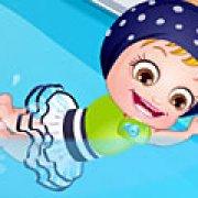 Игра Игра Малышка Хейзел учится плавать