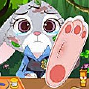 Игра Игра Зверополис: Джуди лечит ногу