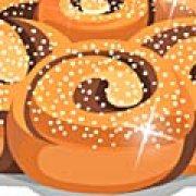 Игра Игра Хлебный торт с шоколадом и орехами