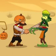 Игра Игра Зомби против Хэллоуин