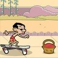 Игра Игра Мистер Бин на скейте
