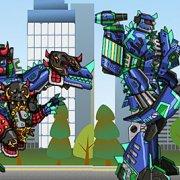 Игра Игра Роботы динозавры: Цератозавр трансформер