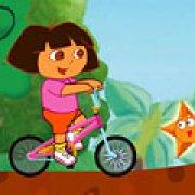 Игра Игра Дора: езда на велосипеде