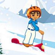 Игра Игра Диего на скутере с горы